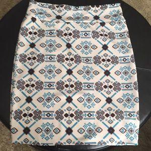 Lularoe Cassie pencil skirt.